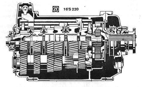 Коробка передач ZF 16S220