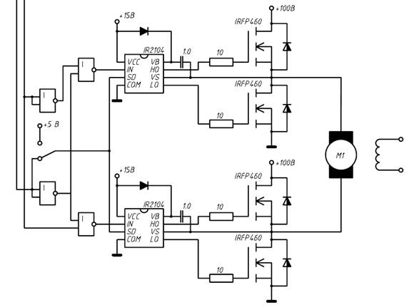 Но и конечно же применить IR2125 - Одноканальный драйвер с ограничением тока (выдрать часть схемы из самого блока.