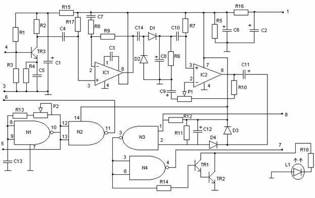 Принципиальная электрическая схема прогресс 4.